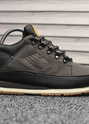 😊new balance 574 brown🤗 мужские ботинки с мехом на зиму зимние...