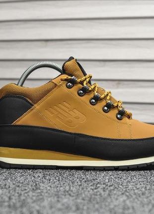 😊new balance 574 yellow🤗 мужские ботинки с мехом на зиму зимни...