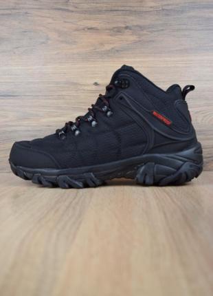 😊merrell ботинки черные🤗 мужские ботинки на зиму с мехом теплые
