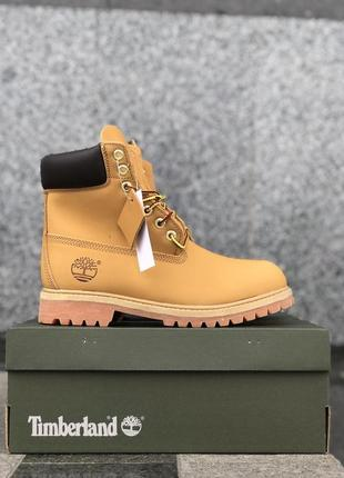 😊timberland brown 🤗 женские ботинки тимберленд зимние с мехом