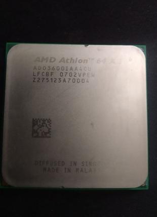 S-AM2 AMD Athlon 64 X2 3600+ 1.9Ghz (AD03600IAA4CU)