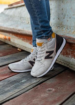😊new balance winter grey🤗 мужские кроссовки с мехом серые
