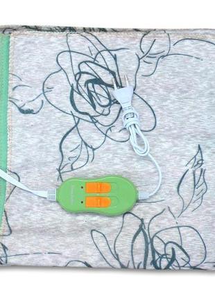 Электропростынь двуспальная с двумя зонами Lux 155x170 - Турци...