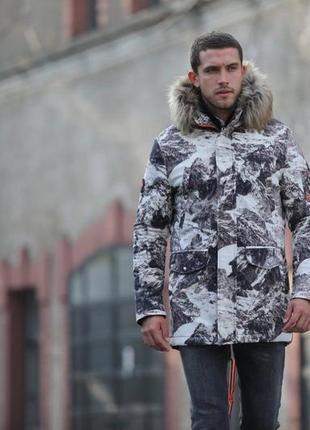 Шикарная мужская парка🤗 куртка до -15 !