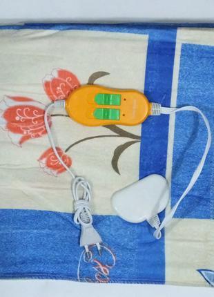 Электропростынь с двумя зонами Lux 155x170 - Турция (Электро п...