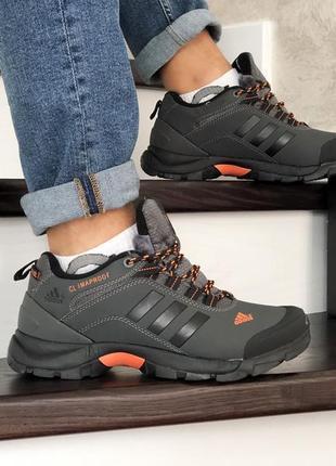 😊 adidas climaproof🤗 мужские зимние кроссовки с мехом зима