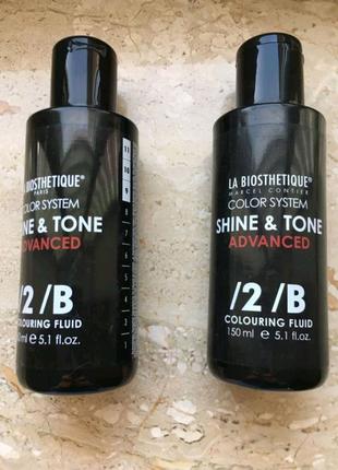 LA BIOSTHETIQUE shine & tone advanced прямой тонирующий краситель