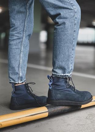 Timberland mens 🤗 мужские зимние ботинки тимберленд синие зима