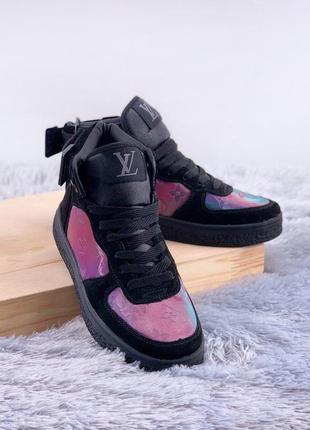Louis vuitton boombox trainer boots 🤗 женские зимние кроссовки