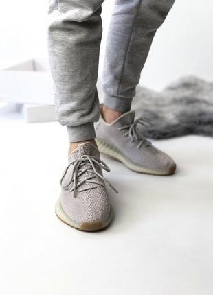 Мужские кроссовки adidas yeezy boost 350 grey