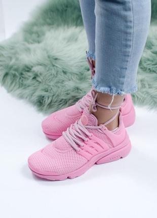 Шикарные женские кроссовки nike presto pink