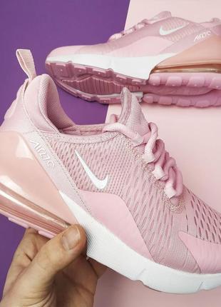Шикарные женские кроссовки nike air max pink