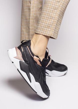 Шикарные женские кроссовки puma rs-x