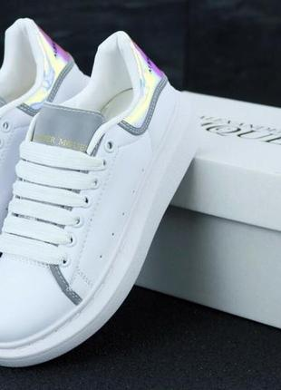 Шикарные женские кроссовки alexander mcqueen