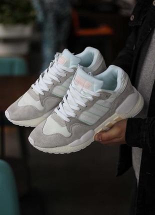 Шикарные мужские кроссовки adidas zx930 x eqt white