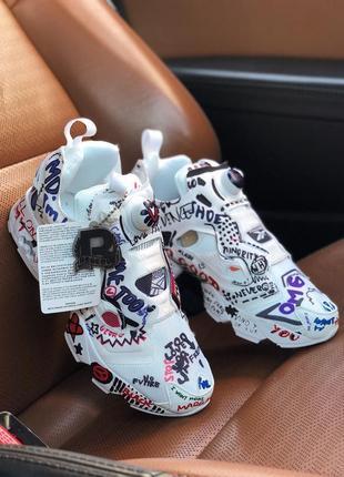 Шикарные женские кроссовки reebok insta pump vetements