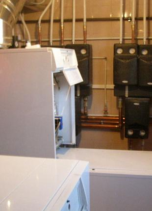 Монтаж систем отопления, канализации, водоснабжения