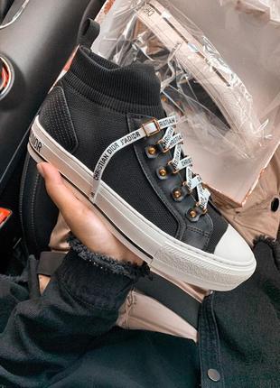 Шикарные женские кроссовки dior volutin