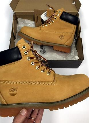 Шикарные мужские ботинки timberland