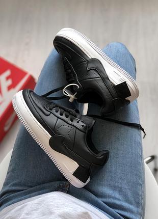 Шикарные женские кроссовки nike air force jester black