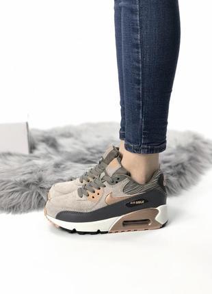 Шикарные женские кроссовки nike air max 90