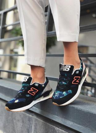 Шикарные женские кроссовки new balance 530 floral ink