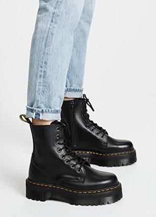 Шикарные женские осенние ботинки dr. martens 1460 jadon