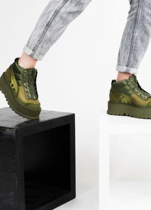 Шикарные женские кроссовки puma x fenty zipped sneaker boots