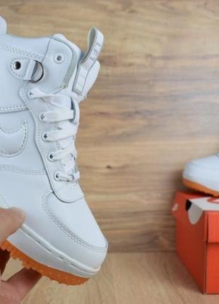 Шикарные женские зимние  кроссовки ботинки nike lunar force 1 ...