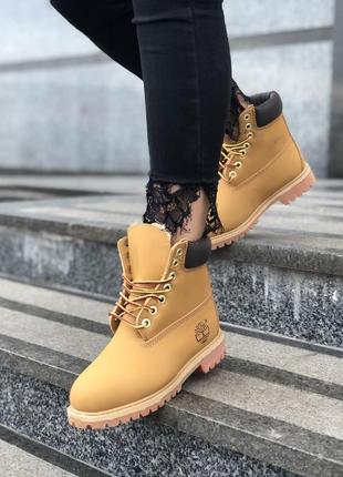 Шикарные мужские  зимние ботинки timberland