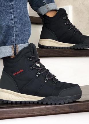 Шикарные мужские зимние ботинки columbia