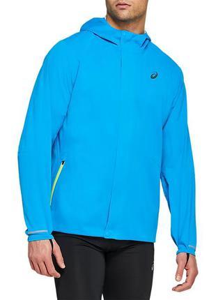 Ветровка куртка беговая asics run hood running jacket (размер ...