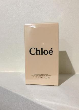 Парфюмированный лосьон для тела chloé perfumed body lotion