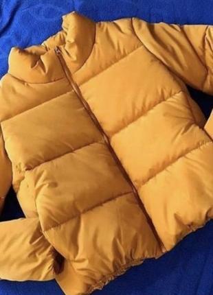 Жіноча куртка montella yellow