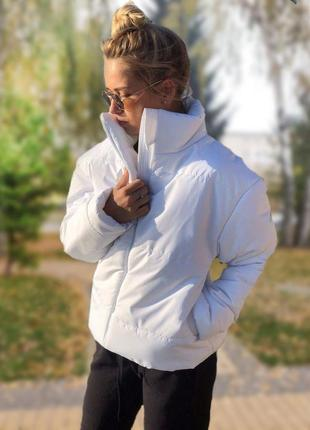 Жіноча куртка montella white