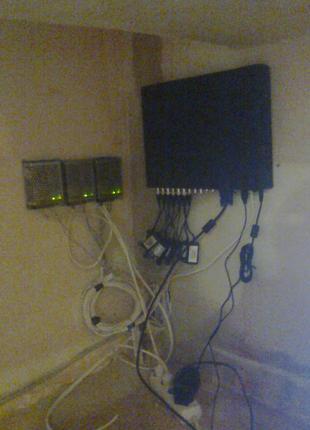 Монтаж и обслуживание систем видеонаблюдения и сигнализации