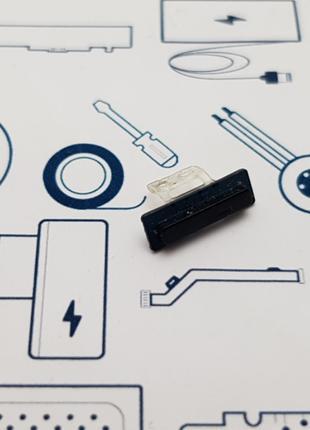 Кнопка включения HTC ONE 801N черная Сервисный оригинал с разб...