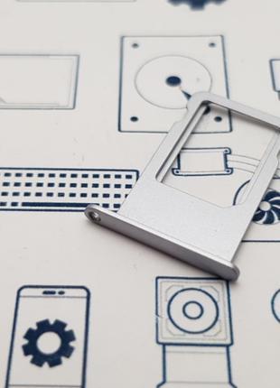 Держатель сим карты Apple iPhone 6 Plus серый Сервисный оригин...