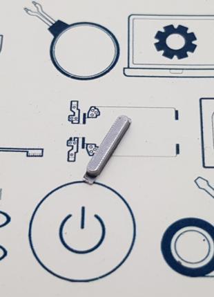 Кнопка включения Huawei G7-L01 серая Сервисный оригинал с разб...