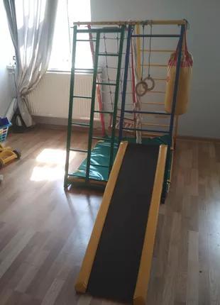 Детский спорткомплекс-горка Трансформер Микро