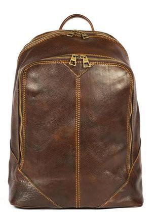 Итальянский кожаный рюкзак