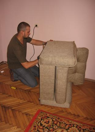 Ремонт мебели корпусной и перетяжка мягкой мебели любой сложно...