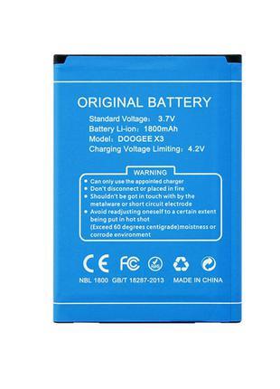Аккумулятор, батарея для Doogee x3