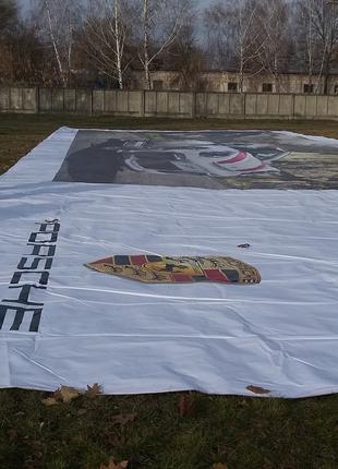 Монтаж и демонтаж рекламных баннеров