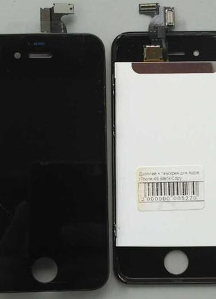 Дисплей + тачскрин для Apple iPhone 4S Black