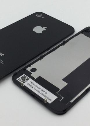 Задняя крышка для мобильного телефона iPhone 4S Black