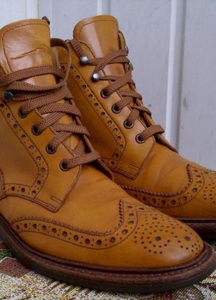 Ботинки оксфорды goodyear charles tyrwhitt london
