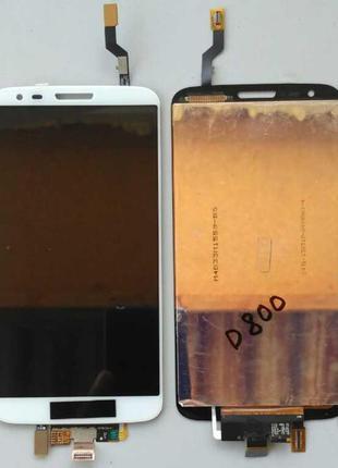 Дисплей + тачскрин для LG D800/D801/D803/LS980/G2 White