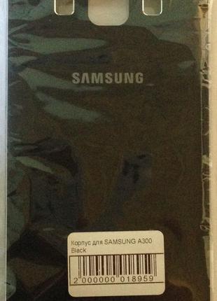 Корпус для мобильного телефона SAMSUNG A300 Black