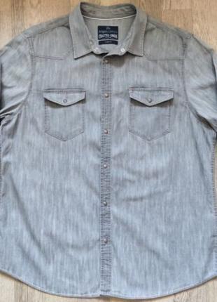 Продается джинсовая рубашка Angelo Litrico, размер XXL